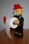 Toiletrolhouder brandweerman