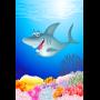 Vrolijke haai